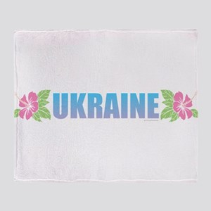 Ukraine Throw Blanket
