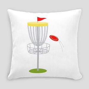 Frisbee Disc Golf Everyday Pillow