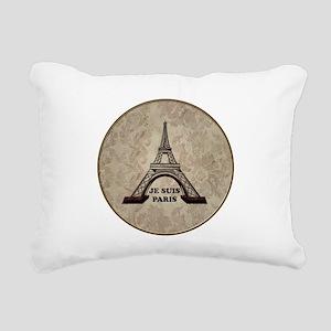 The eiffel tower Rectangular Canvas Pillow