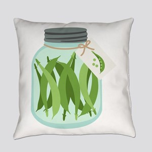 Pickled Green Beans Everyday Pillow