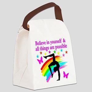 GYMNAST FAITH Canvas Lunch Bag