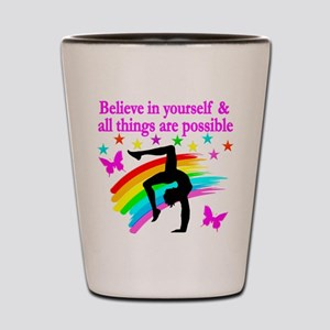 GYMNAST FAITH Shot Glass
