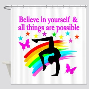 GYMNAST FAITH Shower Curtain
