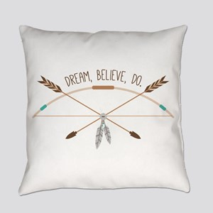 Dream Believe Do Everyday Pillow