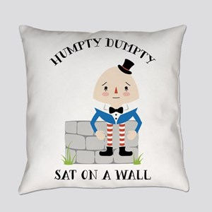 Sat On A Wall Everyday Pillow