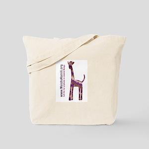 Full Life For Orphans Giraffe Tote Bag
