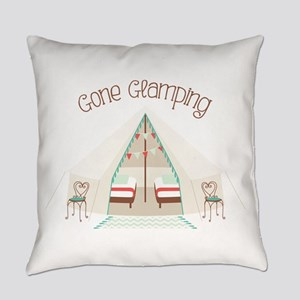 Gone Glamping Everyday Pillow