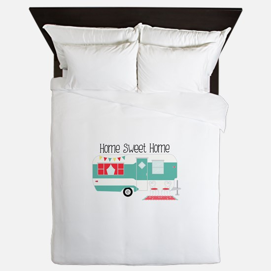 Home Sweet Home Queen Duvet