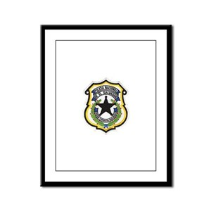 El Salvador Police Framed Panel Print