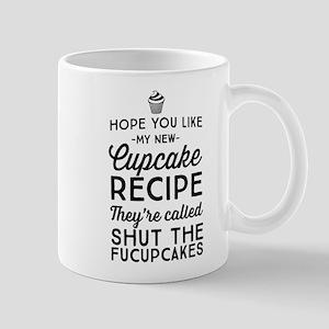 Hope you like my new cupcake recipe Mugs