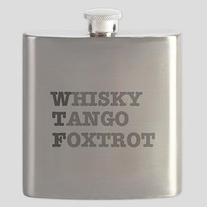 WTF - WHISKY,TANGO,FOXTROT Flask