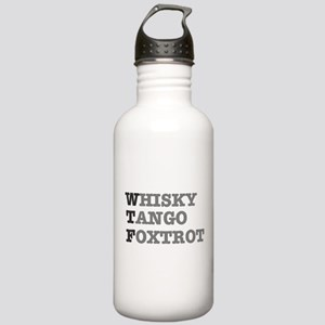 WTF - WHISKY,TANGO,FOX Stainless Water Bottle 1.0L
