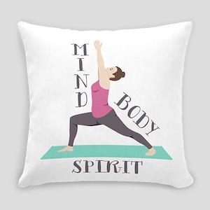 Mind Body Spirit Everyday Pillow