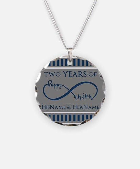 2nd Anniversary Infinity Cou Necklace