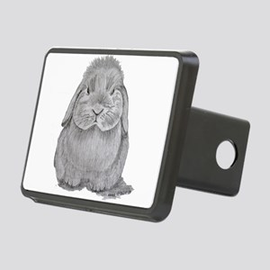 Holland Lop by Karla Hetzler Hitch Cover