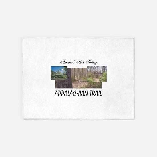 Appalachian Trail Americabesthistor 5'x7'Area Rug