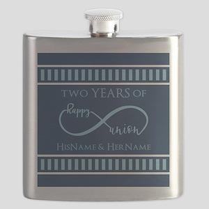 2nd Aniversary Celebration Gift Infinite Hap Flask