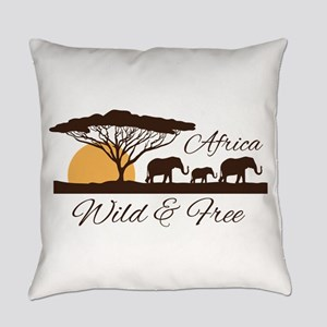 Wild & Free Everyday Pillow