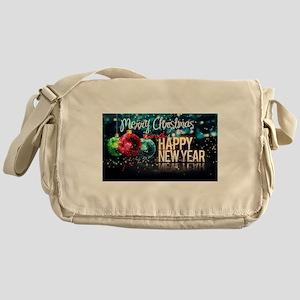 Merry Christmas,New Year Messenger Bag