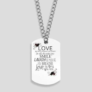 Love Dog Tags