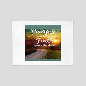 prayer 5'x7'Area Rug