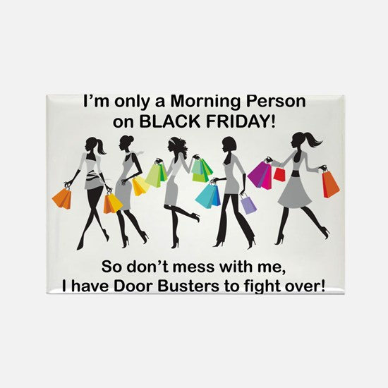 Cute Black friday Rectangle Magnet