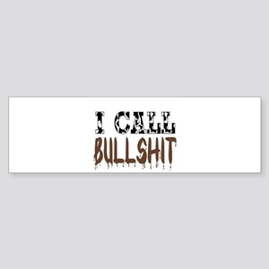 I call BS Bumper Sticker