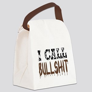 I call BS Canvas Lunch Bag