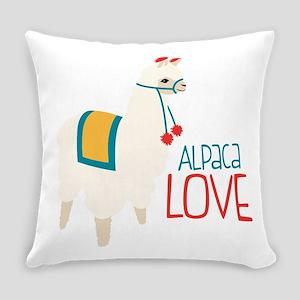 Alpaca Love Everyday Pillow