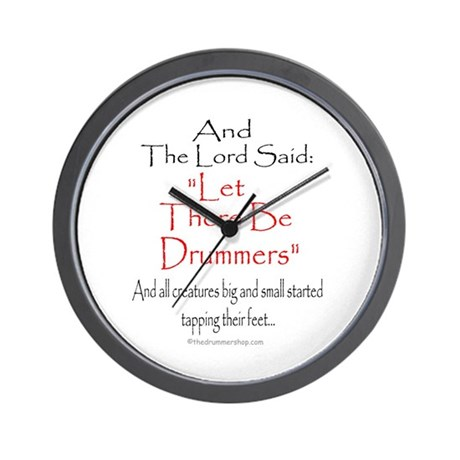 And The Lord Said: Wall Clock