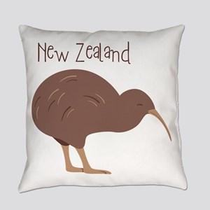 New Zealand Bird Everyday Pillow