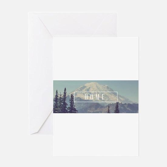 Mt. Rainier Greeting Cards