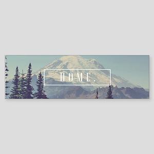 Mt. Rainier Bumper Sticker
