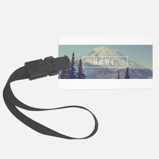 Mt. Rainier Luggage Tag