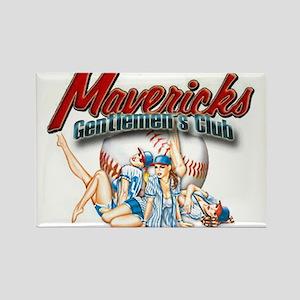 Gentlemen's Club Rectangle Magnet