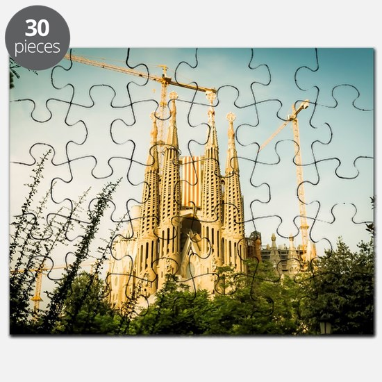 Funny Sagrada familia Puzzle
