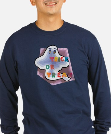 Ghostly Trick or Treat T