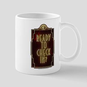 AHS Hotel Check In Mug