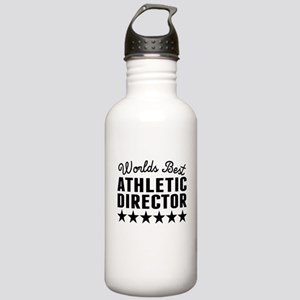 Worlds Best Athletic Director Water Bottle