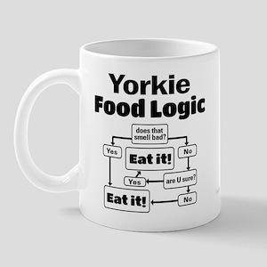 Yorkie Food Mug