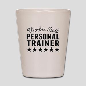 Worlds Best Personal Trainer Shot Glass