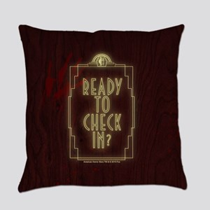 AHS Hotel Check In Everyday Pillow