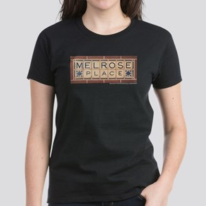 Melrose Place Logo Women's Dark T-Shirt