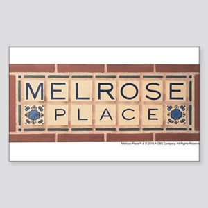 Melrose Place Logo Sticker (Rectangle)