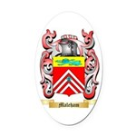 Maleham Oval Car Magnet