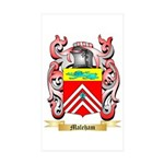 Maleham Sticker (Rectangle 10 pk)