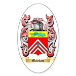Maleham Sticker (Oval 50 pk)