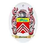 Maleham Oval Ornament