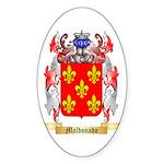 Maldonado Sticker (Oval 10 pk)
