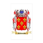 Maldanado Sticker (Rectangle 50 pk)